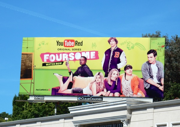 Foursome YouTube Red series billboard
