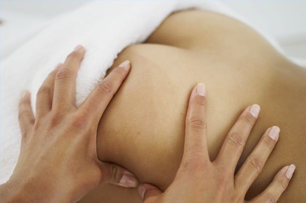 A sensual massage quickly turns to passion 9