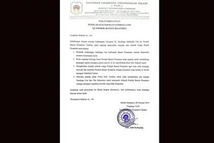 Jubir Sandiaga Sayangkan Politisasi Pesantren oleh Kubu Lawan