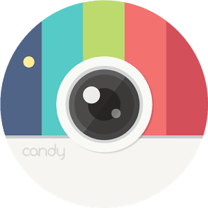 Candy camera for android, pc windows 10/8/7