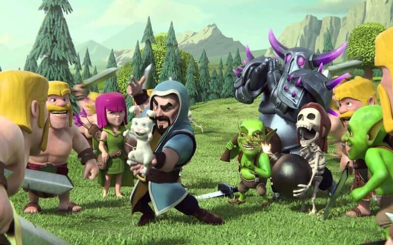 clash of clans لعبة