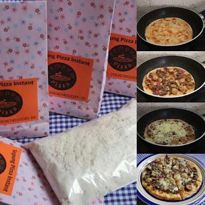 tepung premix pizza instan