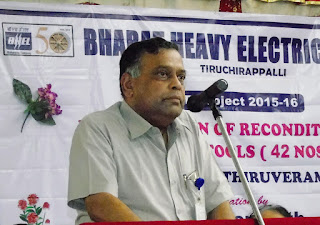 Shri S.GOPINATH Avl,Executive Director, BHEL,   Trichy..