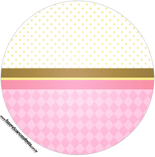 Carousel in Pink: Free Printable Cupcake Wrappers and Toppers.