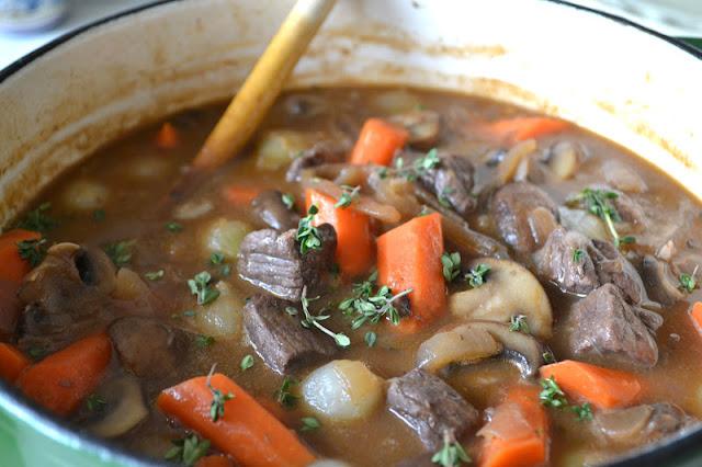Beef Stew Ina Garten ina garten's beef bourguignon | the view from great island