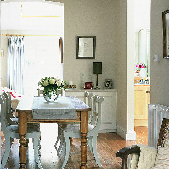 Modern Traditional Dining Room: Modern Country Style: The Fabulous Flow-Through Dining
