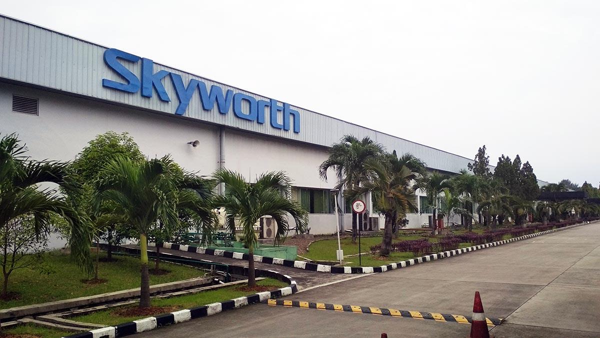 Pabrik TV / Televisi LED Coocaa Cikarang - Pabrik TV / Televisi LED Skyworth Cikarang Indonesia