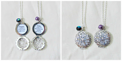 image mother daughter locket necklaces necklace set beaded quote two cheeky monkeys