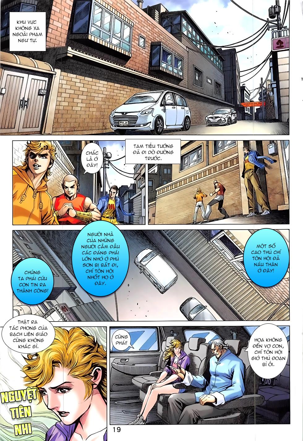 Tân Tác Long Hổ Môn chap 830 - Trang 19