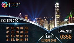 Prediksi Angka Togel Hongkong Rabu 12 September 2018
