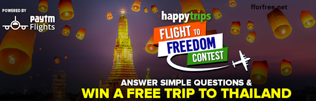 Contests to win trips