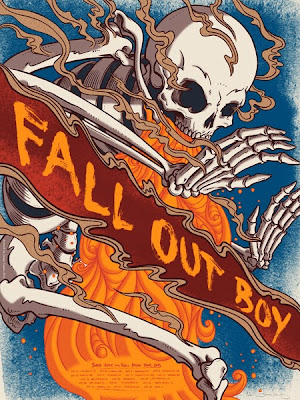Fall Out Boy Wallpaper Save Rock And Roll Inside The Rock Poster Frame Blog Jame Flames Fall Out