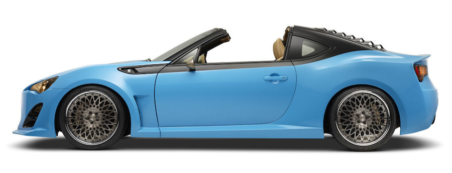 意外と似合う?「トヨタ86」のタルガトップ仕様のオープンカーにしたコンセプトを公開へ Idea Web