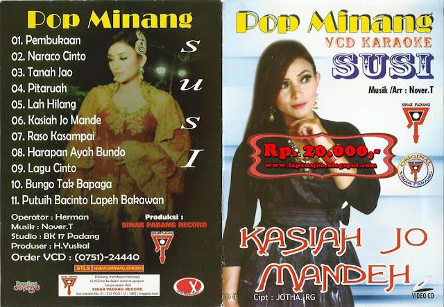 Susi - Kasiah Jo Mandeh (Album Pop Minang)
