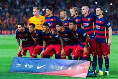 Toàn bộ đội hình Barca có giá trị vào khoảng 2,6 tỷ euro