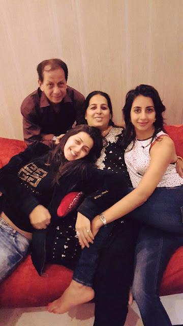 Nikki Galrani family