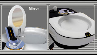 Christopher sc todo en uno inodoro lavabo espejo y un - Inodoro y lavabo en uno ...