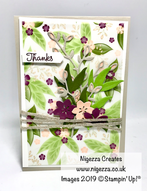 Floral Romance Stampin Up!