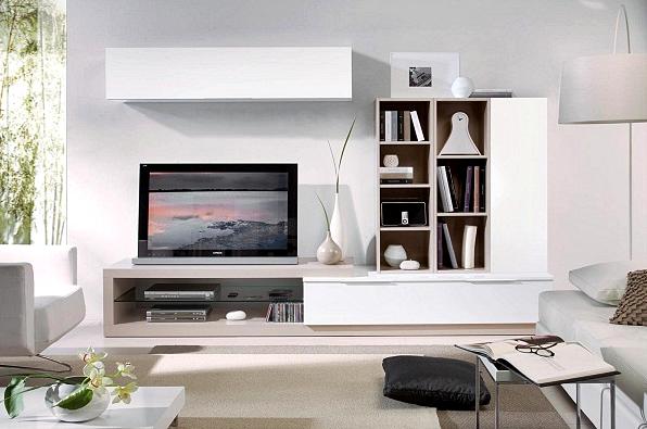 Kumpulan Desain Meja dan Rak TV Minimalis Terbaru Yang Elegan 004