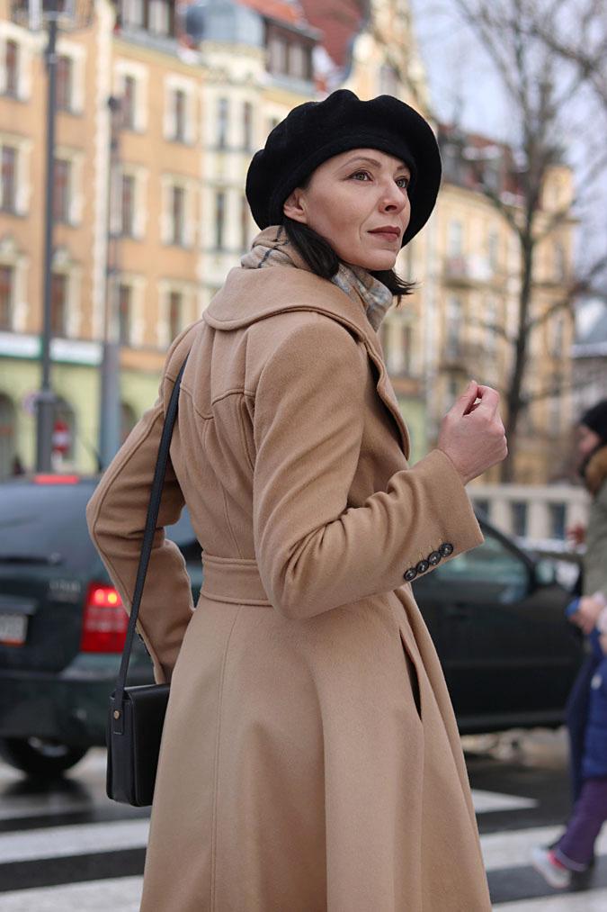Paryski styl zimą