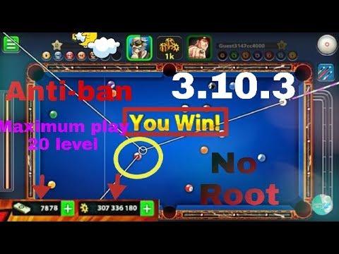 mod apk 8 ball pool 3.10.3
