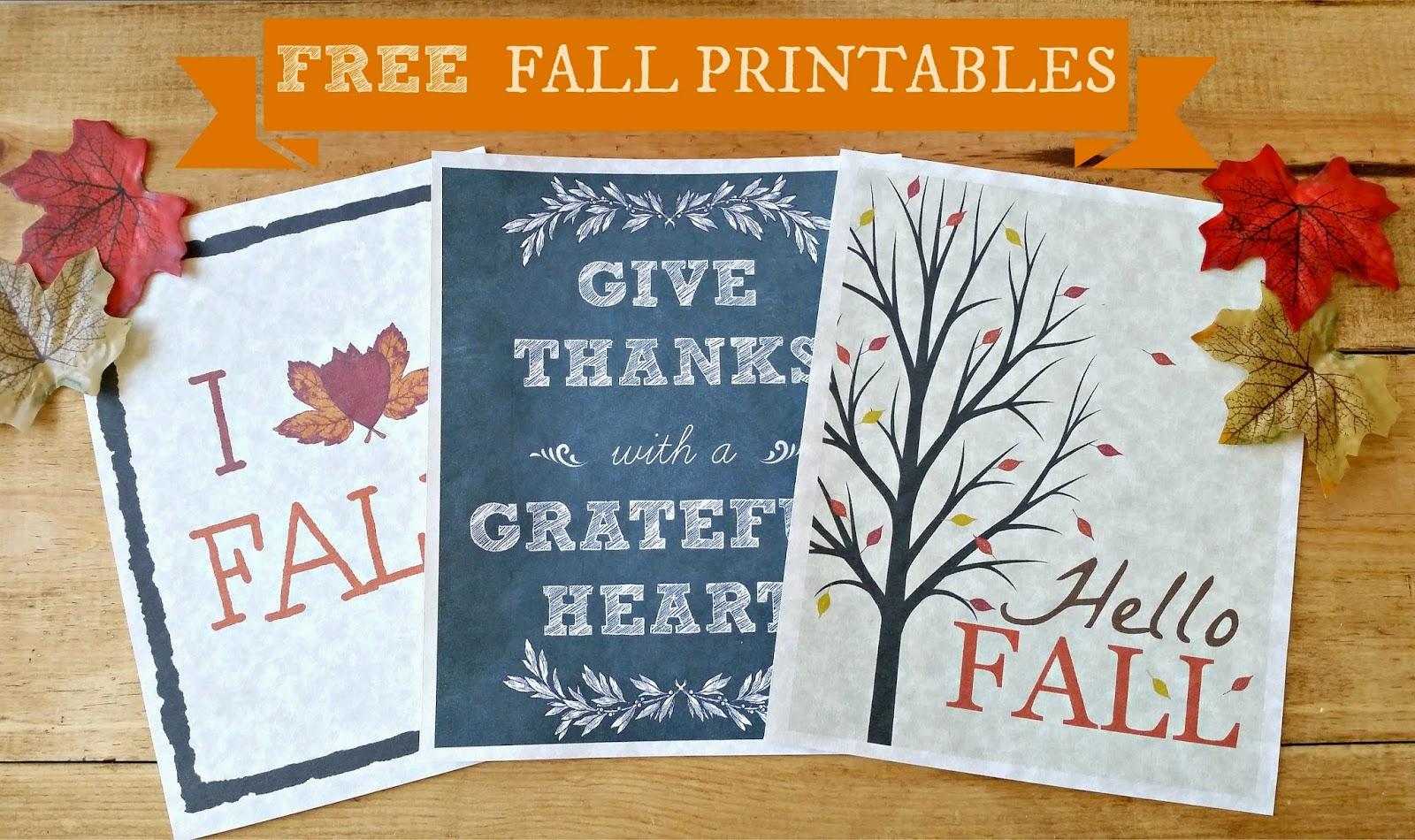 free fall-printables