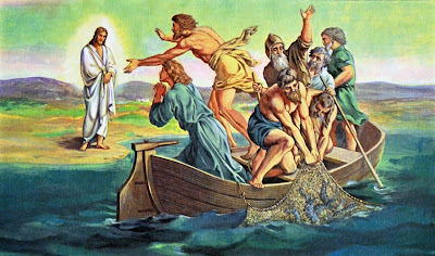 Resultado de imagem para Jesus aparece no mar da galileia