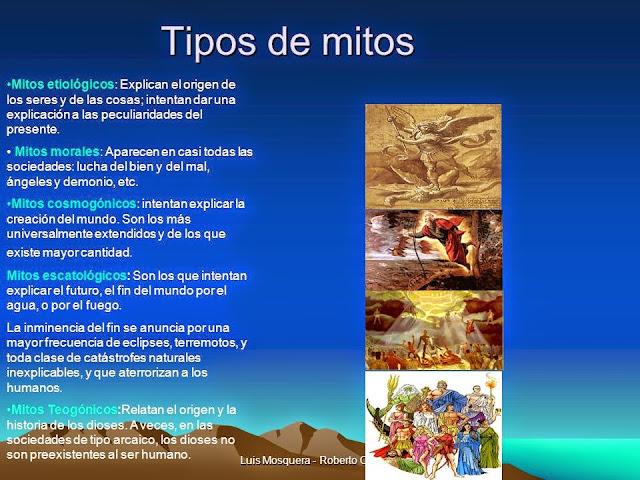 Resultado de imagen para clases de mitos