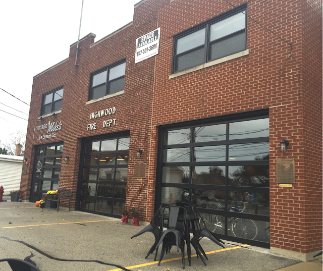 Highwood, Illinois firehouse now housing Tala Coffee Roasters