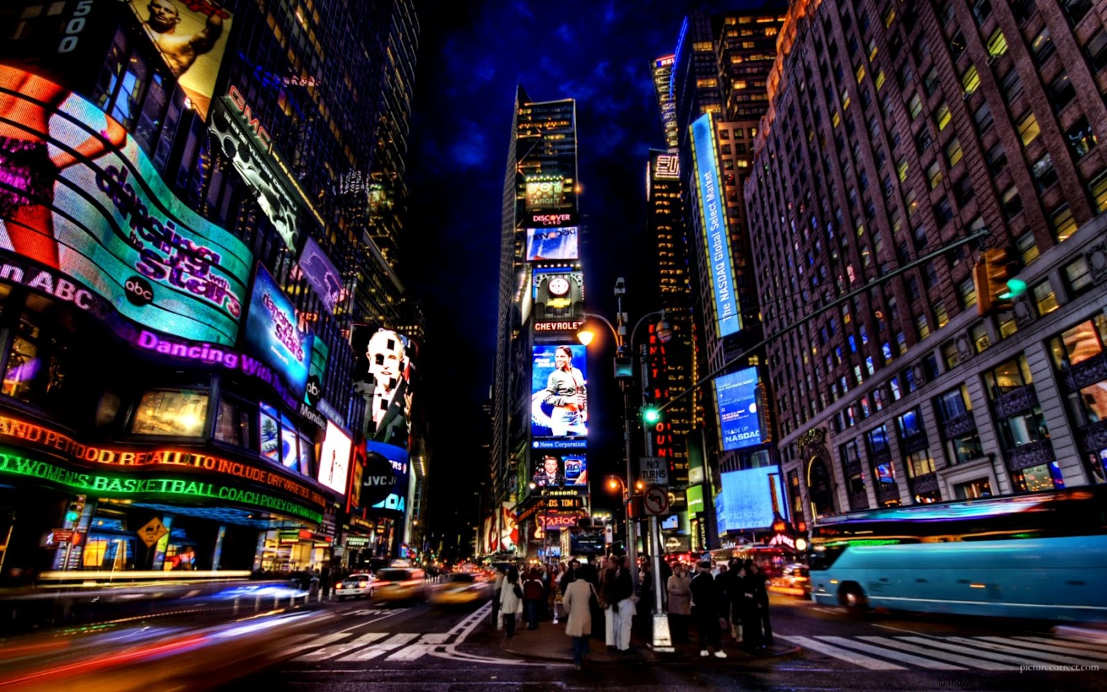 New York City At Night Wallpapers Hd Full Hd Wallpapers