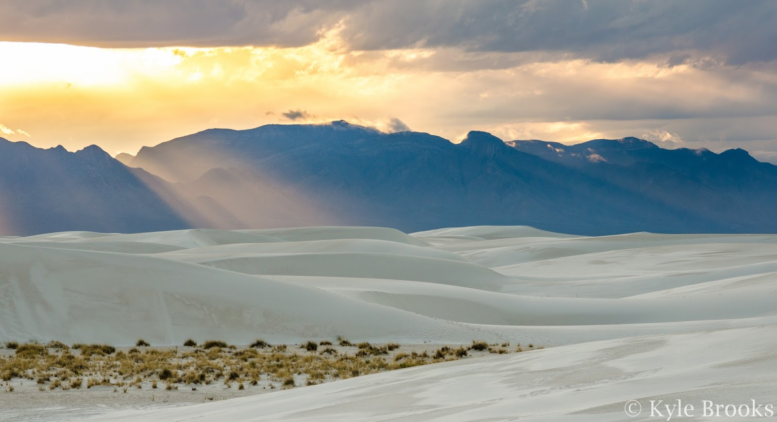 White Sands National Monument Sunset
