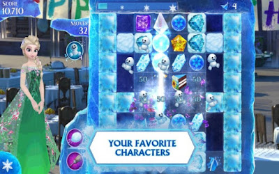 Frozen Free Fall Mod Apk v3.6.0 (Unlimited Life) For Android