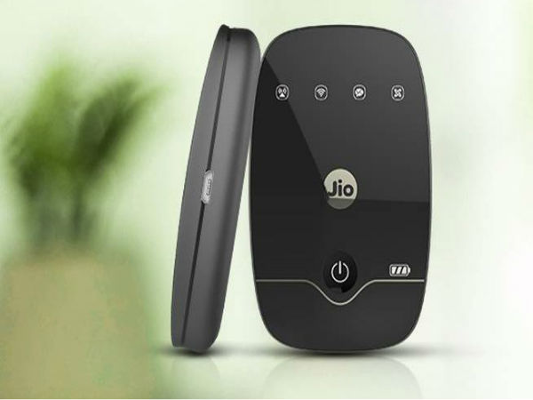 Reliance Jio's new Jiofi Device With OLED Display Spotted