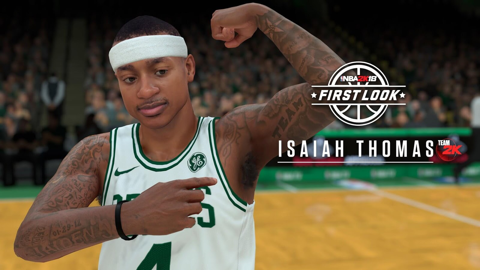NBA 2k18 Isaiah Thomas Screenshot