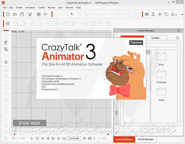 Tutorial Instal CrazyTalk Animator V3 0 3 Full Version   i Share Pro