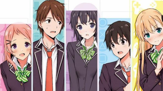 Gamers! - Anime Romance School 2017 Terbaik