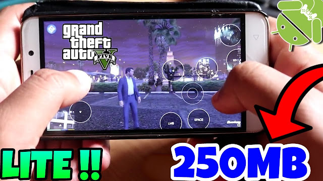 Download GTA 5 Lite for Android Apk Mod Game