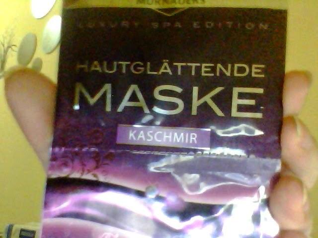 Kaşmir Maske ( nem,yumuşaklık ve pürüzsüzleştirici )