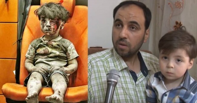 Famous Syrian Boy's Father Exposes Mainstream Media Lies And Propaganda
