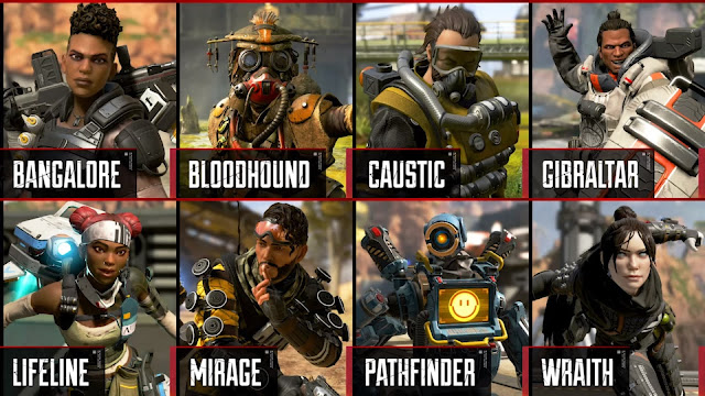 Apex Legends Character
