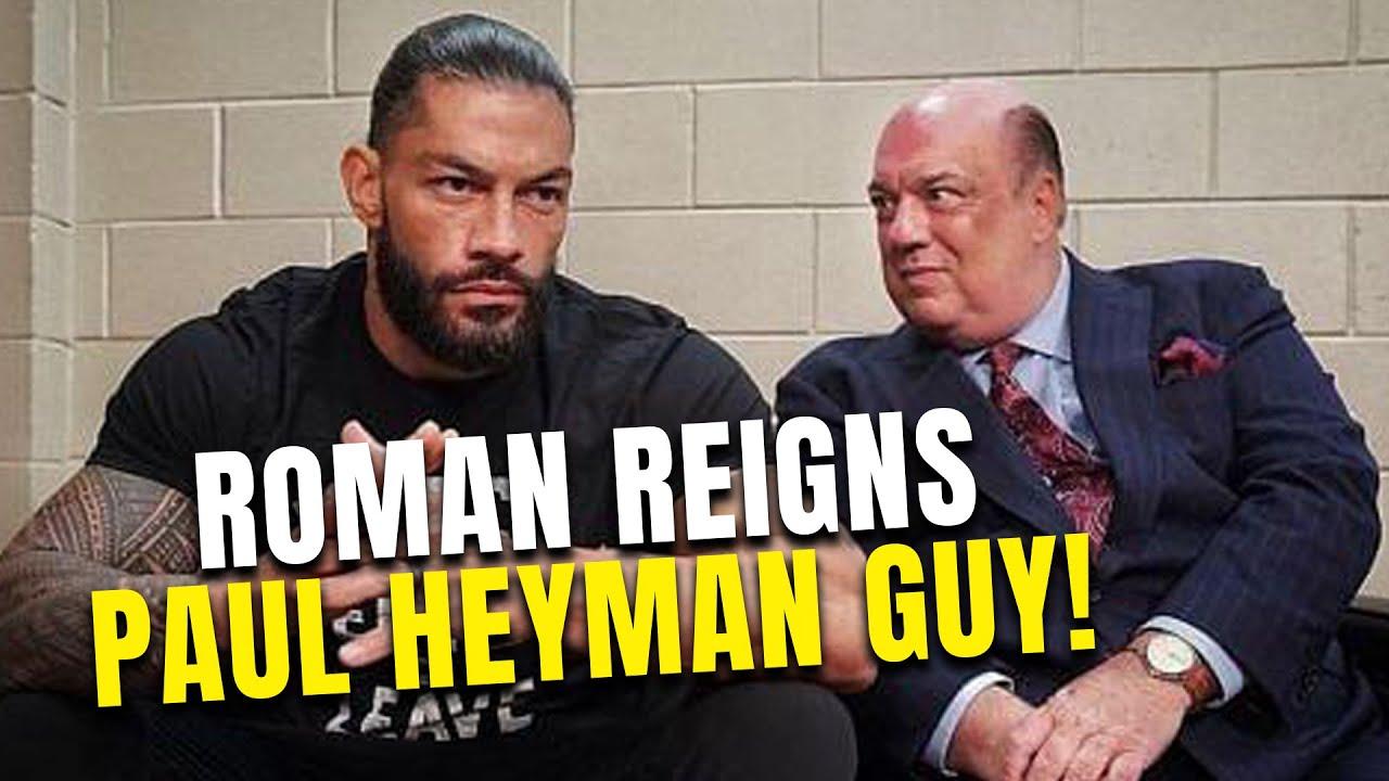 Roman Reigns com Paul Heyman e CM Punk na AEW