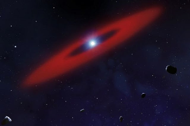 Dwarf star 200 light years away contains life's building blocks