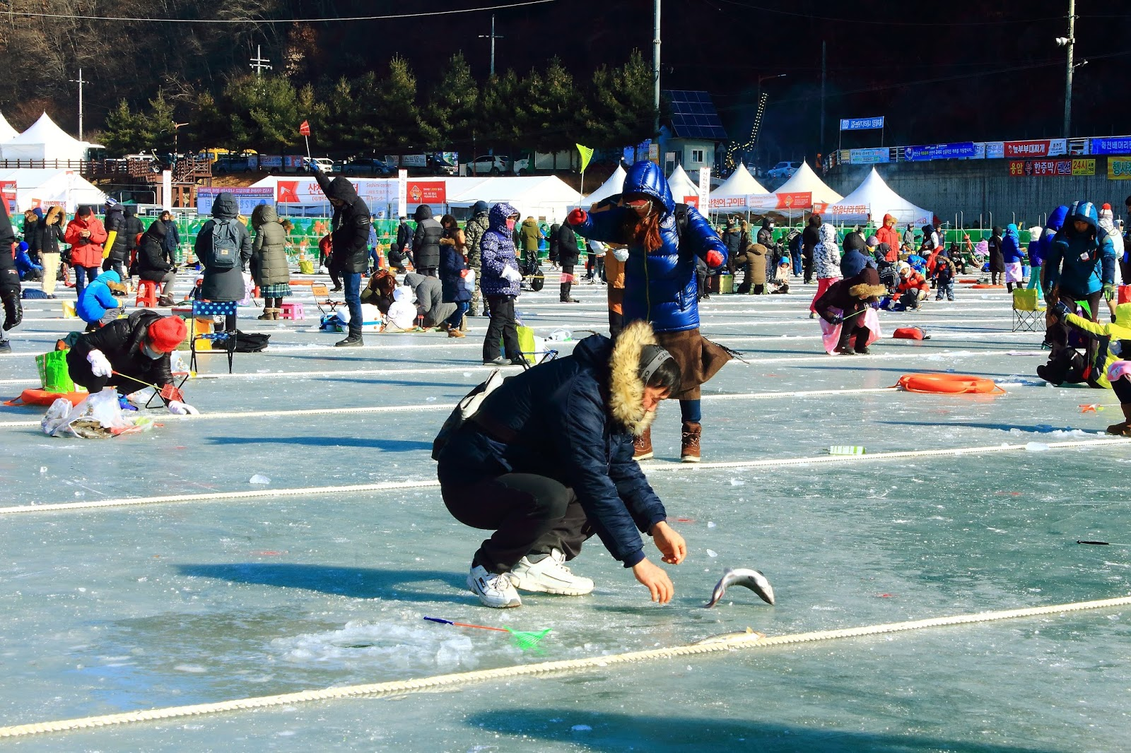 Image result for hwacheon sancheoneo ice festival