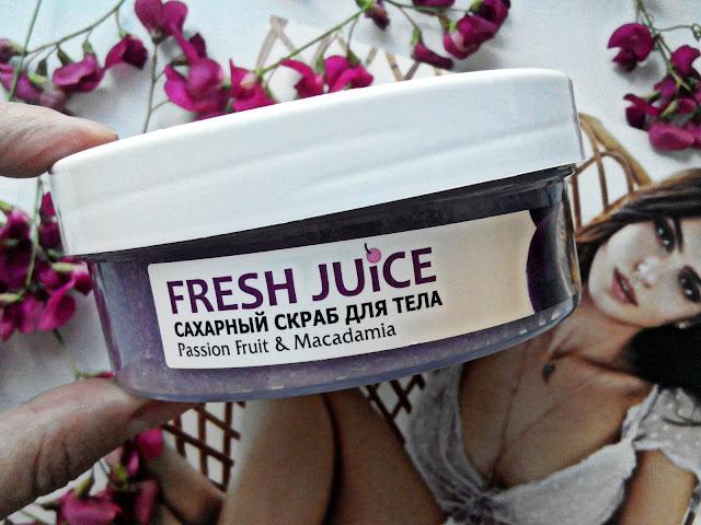 "Fresh Juice ""Маракуйя и макадамия"""