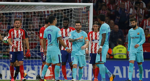 مباراة برشلونة وأتلتيكو مدريد اليوم والقنوات الناقلة بى أن سبورت HD3