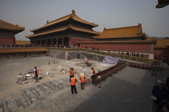 Older foundations found beneath Beijing's Forbidden City