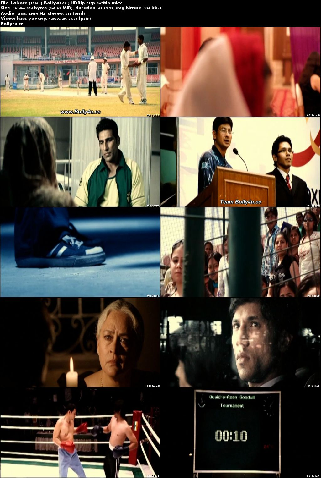 Lahore 2010 HDRip 950MB Full Hindi Movie Download 720p