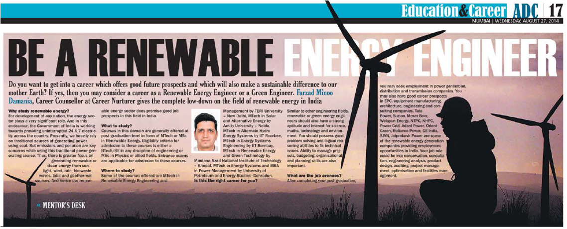 renewable energy article