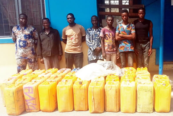 beninese stolen fuel badagry