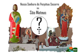 Afinal, quem é o padroeiro de Córrego de São Mateus?